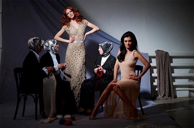 Made auf Veddel – Models und Strickerinnen